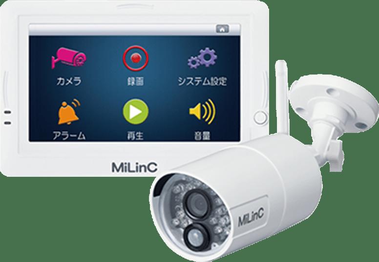 MiLinC HD セキュリティカメラ